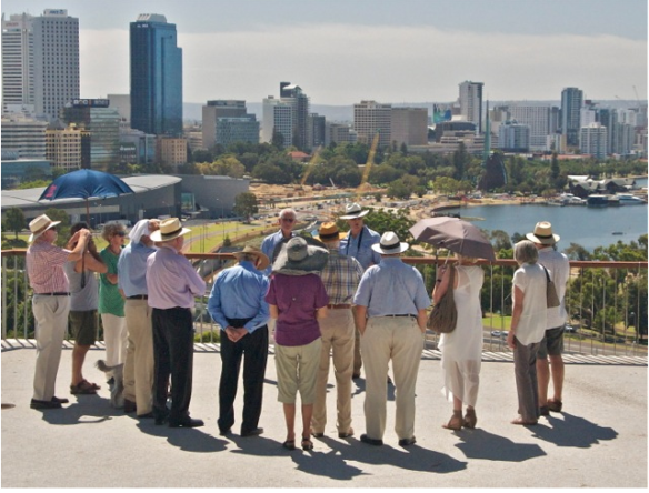 Ken Adam & Ralph Stanton launch the CityVision Review of Elizabeth Quay proposal